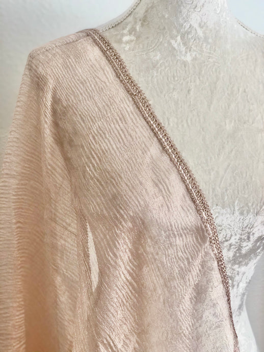 Rose Gold Crush Dupatta