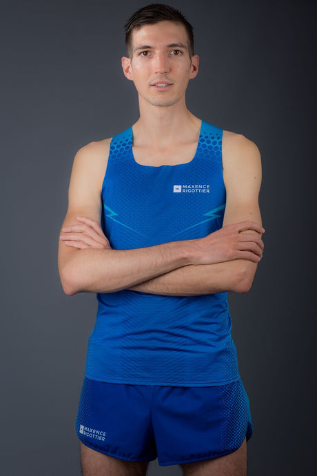 Maillot Running Homme Bleu [Made In France]