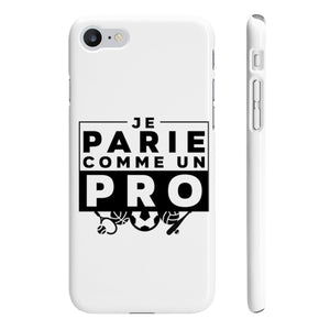 Phone Case - Coque Iphone/Samsung Je Parie Comme Un Pro