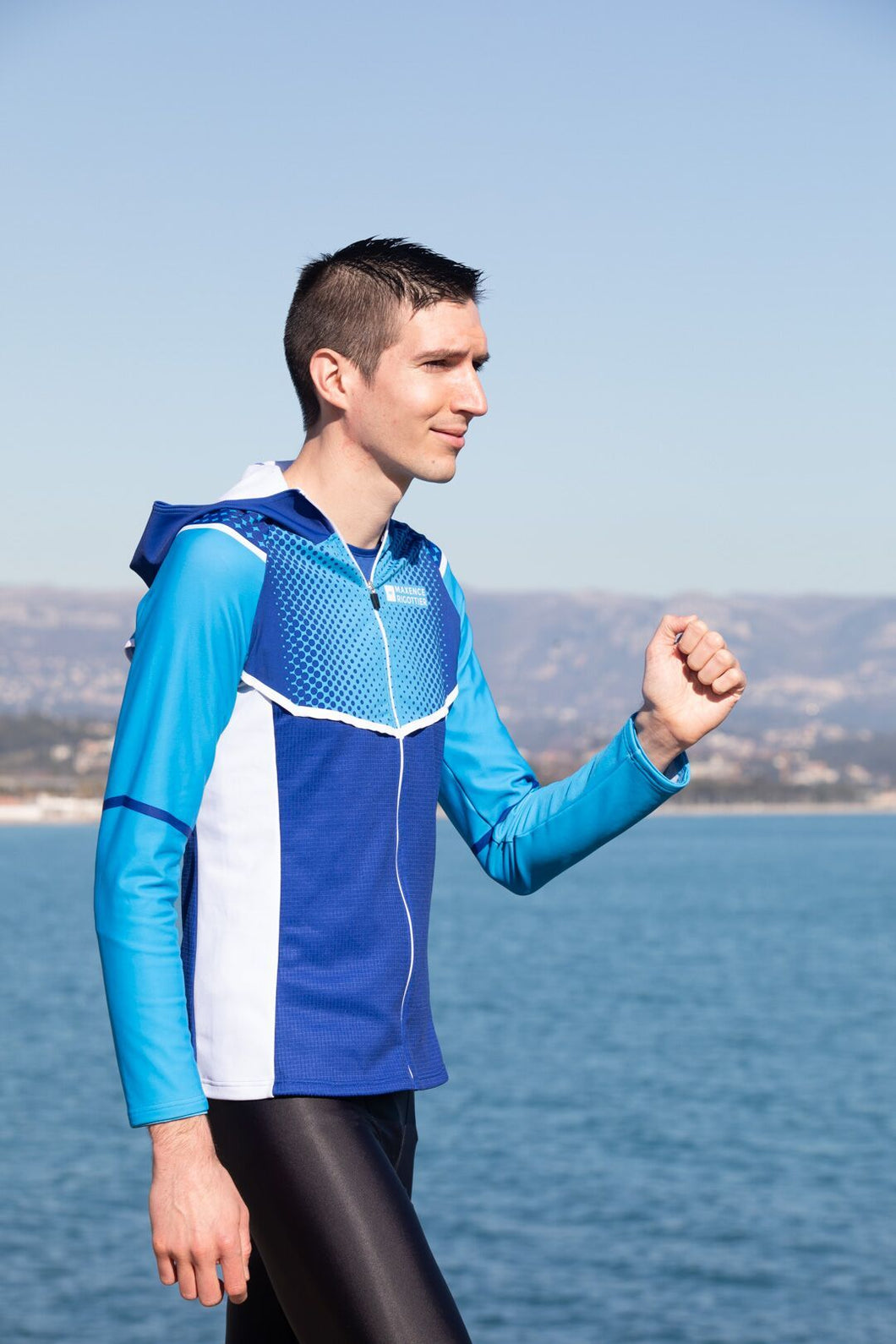 Veste Running Homme Bleu [Made In France]