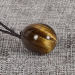 100% Natural Tiger Eye Yoni  Jade Egg