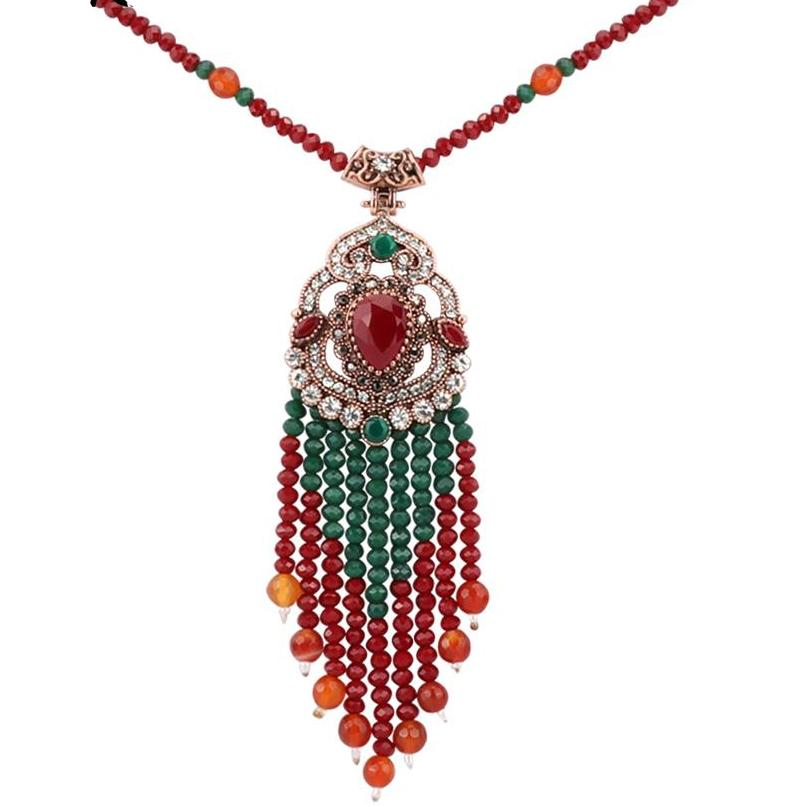 Beautiful Ethnic Long Necklace