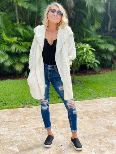 The Coziest Pocketed Cardigan