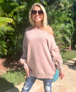 Essential Off Shoulder Sweater - 2 Colors