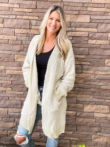 Alpaca Sweater Cardigan- 2 Colors