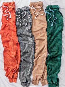 **Pre-Order** Mineral Washed Joggers