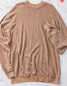 **Pre-Order** Mineral Washed Oversized Sweatshirts
