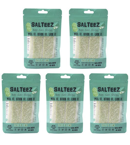Salteez Beer Salt Strips- Salt & Lime Flavor (Pack of 5) - Rebel Threads Boutique