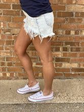 Parker Frayed Denim Shorts - Rebel Threads Boutique