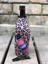 Leopard with Serape Bottleneck Handler - Rebel Threads Boutique