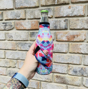 Tie Dye Bottleneck Handler - Rebel Threads Boutique