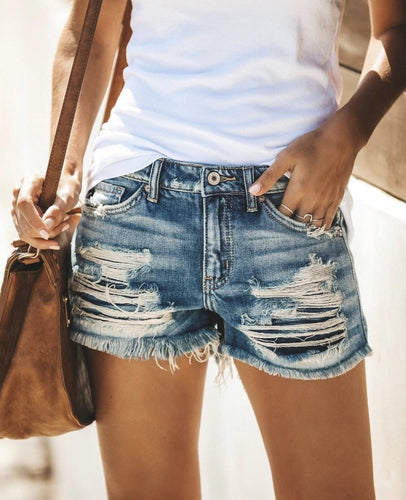 Vintage Distressed Shorts - Rebel Threads Boutique