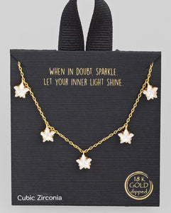 Let Your Light Shine Star Necklace