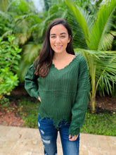 Kelsey Frayed Sweater- 6 Colors
