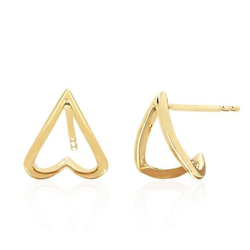 Diamondette Huggie Earrings