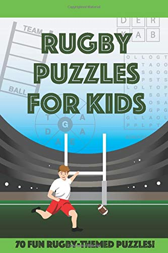 Rugby Puzzles for Kids: ...70 fun rugby-themed puzzles - Rugby Gear Online