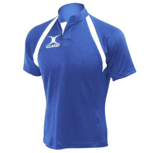 Gilbert Lightweight Match Rugby Jersey, Mens Womens, GIL302-RO2XS, Royal, XX-Small