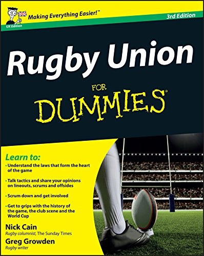 E-Book - Rugby Union For Dummies - Rugby Gear Online