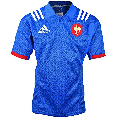 France FFR Home Rugby Jersey 17/18