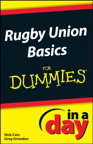 E-Book - Rugby Union Basics In A Day For Dummies - Rugby Gear Online