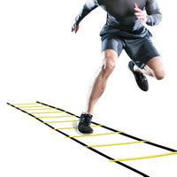 Yellow GHB Pro Agility Ladder Agility Training Ladder Speed Flat Rung with Carrying Bag - Rugby Gear Online