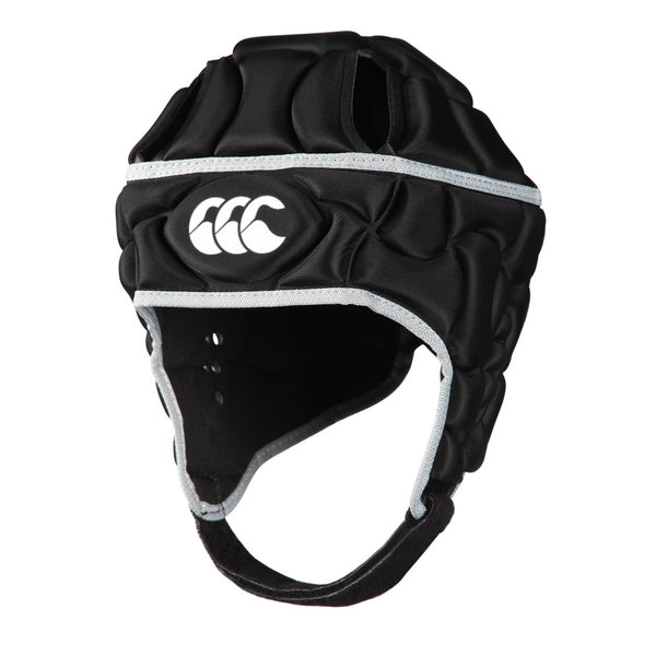 Canterbury Club Plus Headgear, Black, Small - Rugby Gear Online