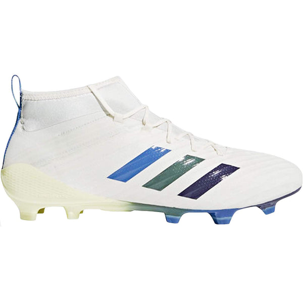 adidas Performance Mens Predator Flare FG Rugby Boots - White - 8.5UK - Rugby Gear Online