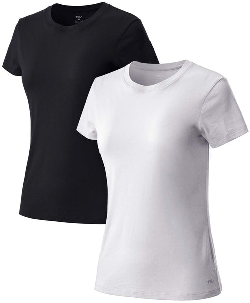 Tesla Women's Performance Active Cool Running Athletic Tops Round Neck - Rugby Gear Online