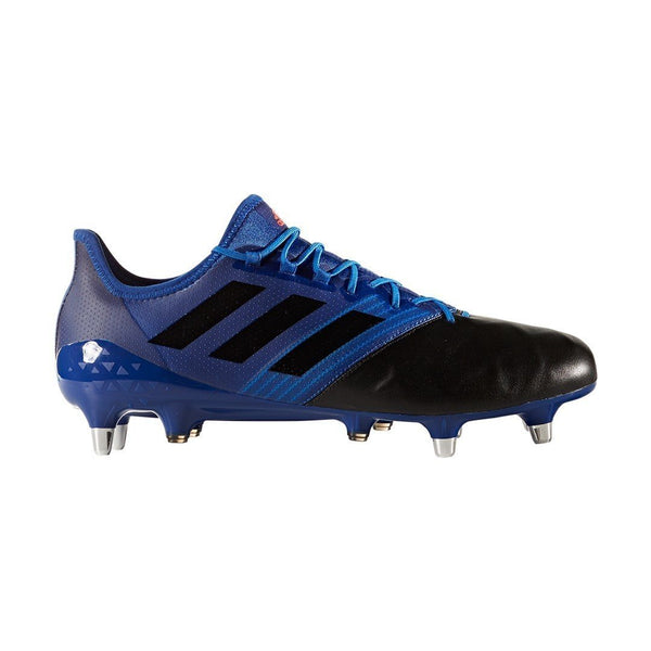 adidas Kakari Light SG Rugby Boots - Blue/Black - UK 6.5 - Rugby Gear Online