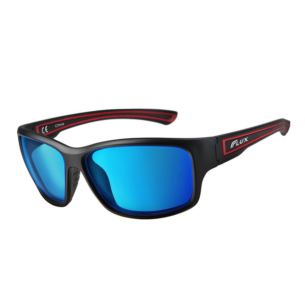 Flux AVENTO Polarized Sports Sunglasses UV400 Protection with Anti-Slip Function and Lightweight Frame