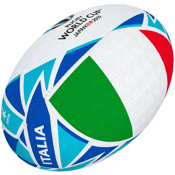 Gilbert Rugby World Cup 2019 Flag Ball - Italy - Rugby Gear Online