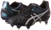 Gel-Lethal Tigreor 10 ST Rugby Boots - Black/Silver