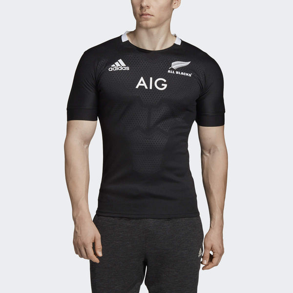 adidas All Blacks Home Rugby Jersey, 2X-Large