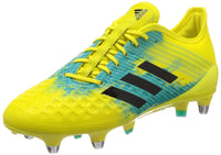 adidas Performance Mens Predator Malice Control Rugby Boots - Yellow - 8.5UK - Rugby Gear Online