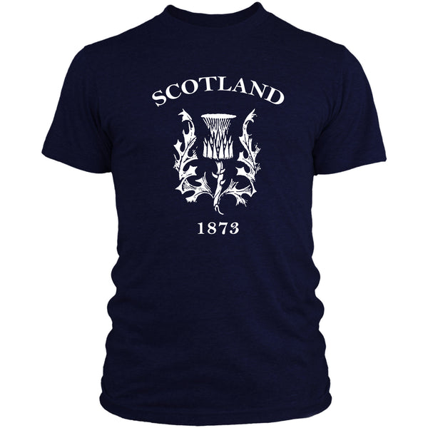 Scotland Retro Rugby T Shirt 6 Nations Scottish Top Men Women Kids 2017 Navy L4Cool Casual Pride T Shirt Men Unisex New Fashion