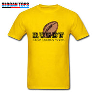 Rugby Lover T-shirts Funny Man T Shirt Summer Top TShirt Today Tomorrow Always Mens Cool Clothing Idea Gift Custom Tees Cotton