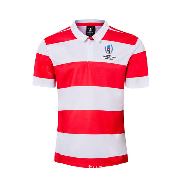2019 Japan World Cup Japan Polo Rugby Jersey - Rugby Gear Online