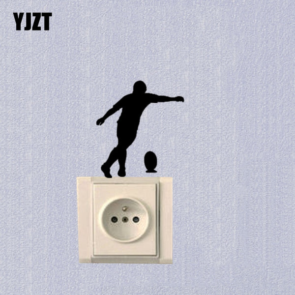 Sports Rugby Bedroom Switch Sticker Fashion Vinyl Decoration Decal 7SS0467 - Rugby Gear Online