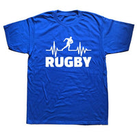Heartbeat Of Rugbying T-shirts - Rugby Gear Online