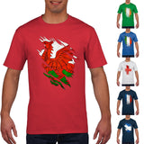 6 Nations Rugby T Shirt Torn Chest Funny Wales England Ireland Scotland PT850 free shipping cheap tee 2019 fashion t shirt - Rugby Gear Online