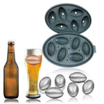 Rugby Shape Ice Cube Mold Chocolate Mould Bar - Rugby Gear Online