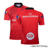 2017 2018 2019 2020 ULSTER HOME RUGBY AWAY JERSEY Size:S-3XL
