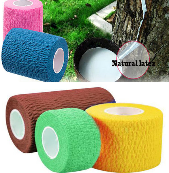 Waterproof Elastic Self Adhesive Medical Bandage Gauze Tape