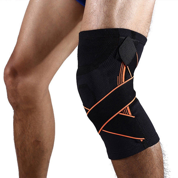 Sports Elastic Adjustable Kneepad - Compression Knee Protector Support - Rugby Gear Online