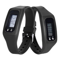 Digital LCD Pedometer Running Stepping Walking - Distance Calorie Counter Watch &  Bracelet