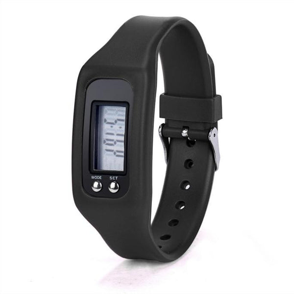 Digital LCD Pedometer Running Stepping Walking - Distance Calorie Counter Watch &  Bracelet - Rugby Gear Online