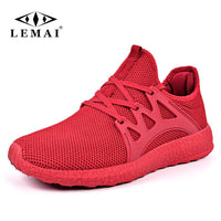 LEMAI New Simple Men Running Shoes