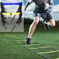 3.5m 5m 5.5m 7m Football Training Ladder WITH Durable Nylon Straps