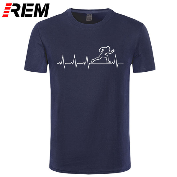 REM Rugby Heartbeat T-shirts Men