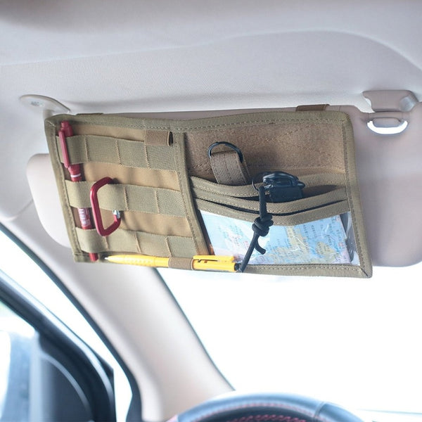 Valiuables Bag for training - Sun Visor Multifunction In-Car Pocket Organizer - Rugby Gear Online